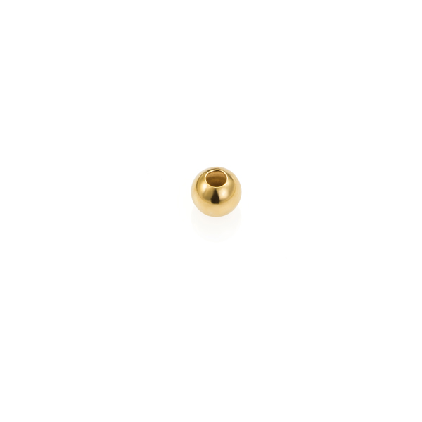 Gold filled 14/20 - Bolas lisas - 4 mm. - Int. 1.5 mm.