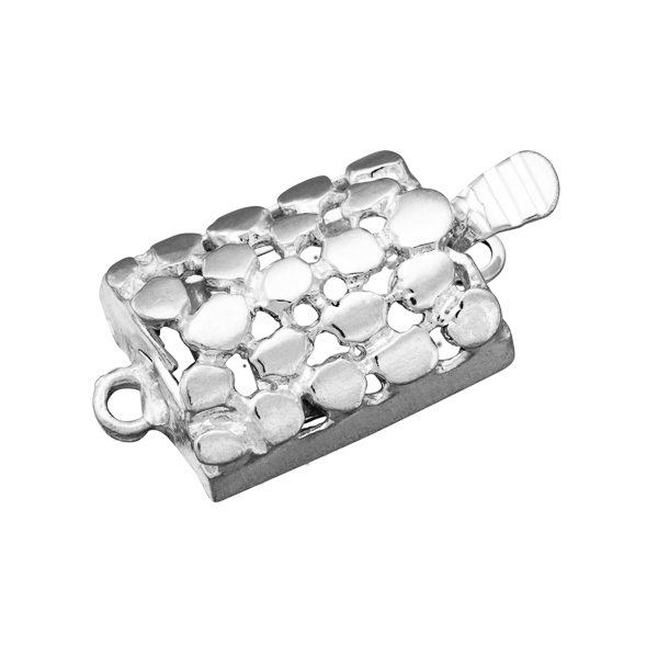 Plata 925/ooo - Broches - Long. 13.8 mm.
